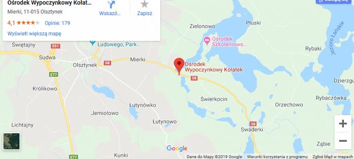 KOŁATEK - Ośrodek Wypoczynkowy